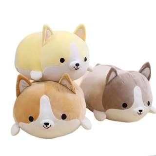 *Instocks* Corgi Dog Mochi Cushion Plush Collection