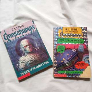 Goosebumps: The Curse of the Mummy's Tomb & The Curse of the Creeping Coffin (Give Yourself Goosebumps, #8)