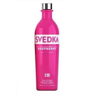 Svedka Vodka - Raspberry 伏特加 - 覆盆子味