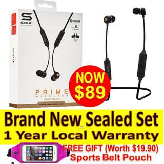 Soul PRIME wireless (1year Warranty)