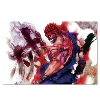 Evil Ryu Acrylic Print 1 Piece