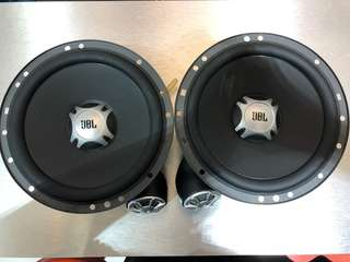 """JBL GT5-650C 6.5"""" 50 Watts RMS 2-Way Component Speakers System"""