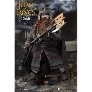 PO: Asmus Toys - LOTR018 - Heroes of Middle-Earth - 1/6 scale Gimli