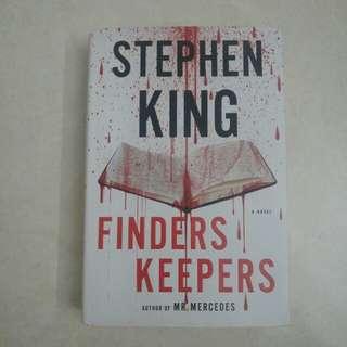 [Preloved] Stephen King - Finders Keepers