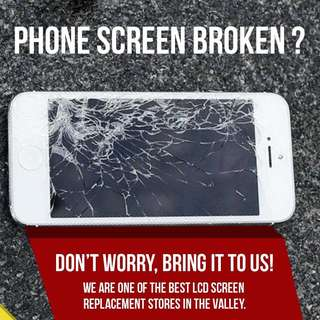 Cracked your iPhone screen ? PM us today!