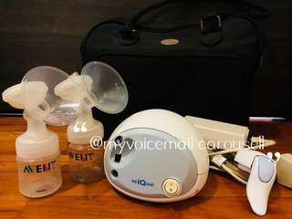 Avent IsIs duo Breast Pump Electronic ($69)