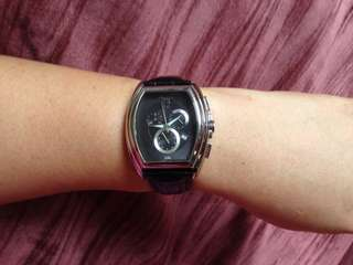 Kenneth Cole Leather watch