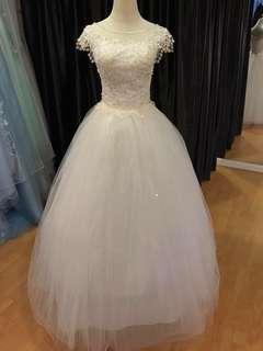 Wedding Gown bridal wear white gown