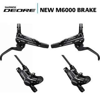 🆕! Shimano Deore M6000 MTB Hydraulic Brakes  ( Front and Rear )  #OK