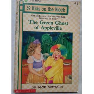39 Kids on the Block Series: The Green Ghost of Appleville by Jean Marzollo #1