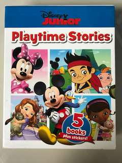 Disney Junior Playtime Stories Set