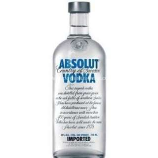 Absolut Vodka - Original 絕對伏特加 - 原味 700ml