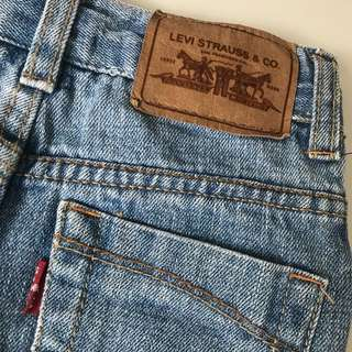 Levi's denim Jeans girls