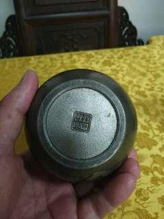 日本老錫罐