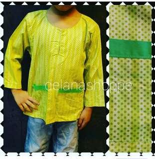 Baju Melayu Cotton Kanak kanak