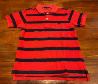 Beverly Hills Polo Club Striped Shirt with Collar