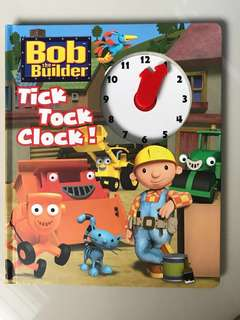 Bob the Builder Tick Tock Clock