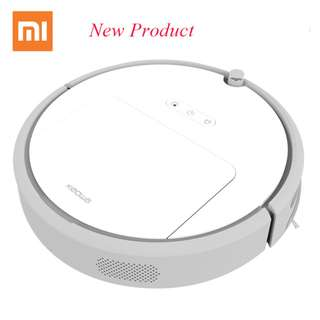 2018 Gen 3 Xiaomi Mi Xiaowa Robot Vacuum Cleaner 1600Pa Suction Power 2600mAh APP Remote Control Auto Recharge Sweeping Robot - intl