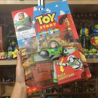 巴斯光年 絕版 吊卡 劈磚 可動 玩具總動員 公仔 玩具 火腿豬 巴斯 扭蛋 三眼怪