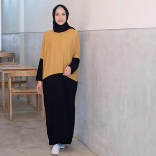 Emadaily Haura dress mustard