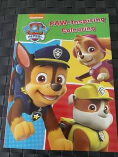 BN - PAW PATROL Colouring Book