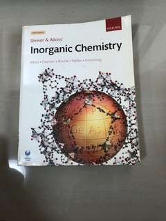 Inorganic Chemistry by Shriver and Atkins