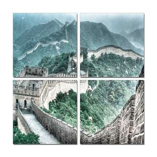 Great Wall Acrylic Print 4 Piece