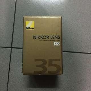 Lens 35mm f 1.8