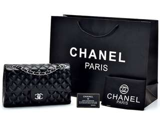 Chanel Classic Medium Lambskin SHW