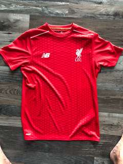 Liverpool Authentic New Balance Training Shirt ( Youth XL )