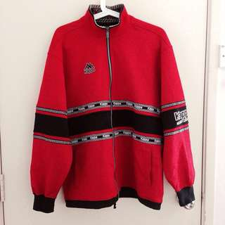 Kappa Rare Jacket Outerwear Men M-L Hypebeast Red Black
