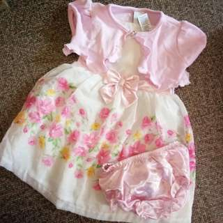 3 piece dress for baby!