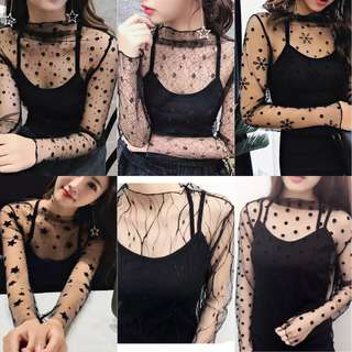All patterns mesh top