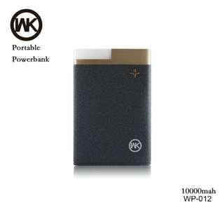 WK quality powerbank 2USB port 10000mah