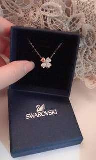 Swarovski Four Leaf Clover Necklace