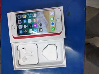 iPhone 7 128gb2nd (import set)red colour limited edition