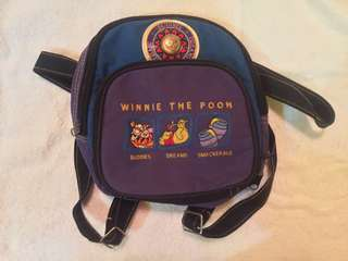 Pre-loved authentic Winnie the Pooh backpack