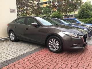 Rental, Mazda 3