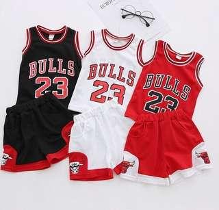 4903 Baby & kid Basketball Jersey top & bottom set