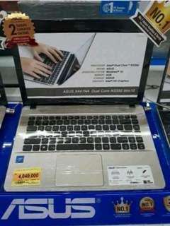 Kredit laptop asus bunga ringan