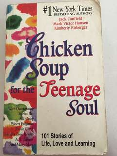 CHICKEN SOUP FOR THE TEENAGE SOUL FOR SALE!!