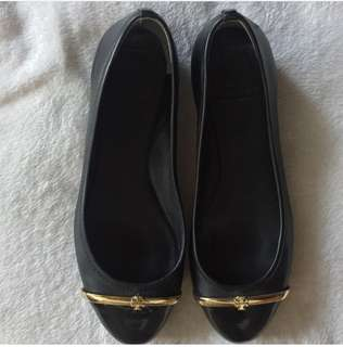 Sale! Pre-loved authentic Tory Burch Pacey Driver ballet shoes