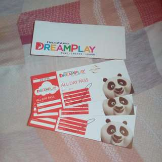 Dreamplay Tickets Take All (3pcs)