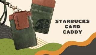 Starbucks card caddy