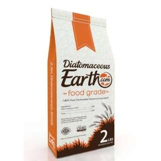 🚚 (OOS) Diatomaceous Earth Food Grade 0.91kg / 2 Lbs