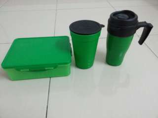 Milo Set (Food Container + Cup + Mug)