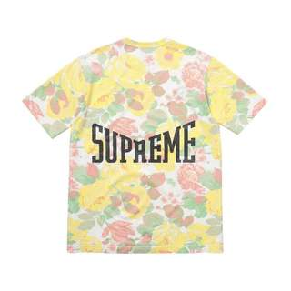 Supreme Flower Tee Yellow / White / Pink / Green T Shirt
