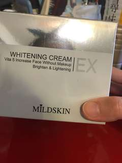 Mildskin提亮嫩白素顏霜