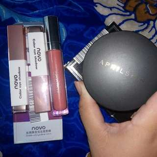 Take All Make Up 150rb - Aprilskin- Wardah- Novo