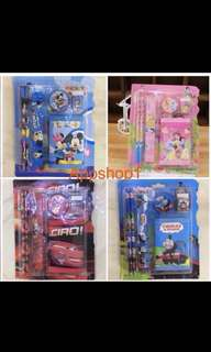 Wallet stationary set- goodies bag, door gift, goodie bag packages for kids party 🎉